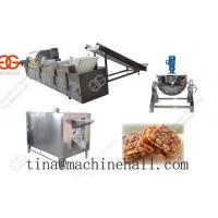 Wholesale Automatic Peanut Brittle Bar Production Line from china suppliers