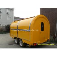 Wholesale Food Service Trailer  Vending Cart Fiberglass With  Four Windows from china suppliers