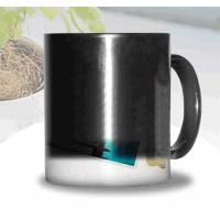 Wholesale Certification SGS/CE custom LOGO for the change colors mug WITH HANDLE printting photos ceramic cup magic mug from china suppliers