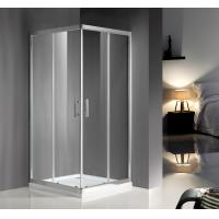 Wholesale 900X900X1900 5/6MM tempered glass Convenient Square Bathroom Shower Cubicles Free Standing CE SGS Certification from china suppliers