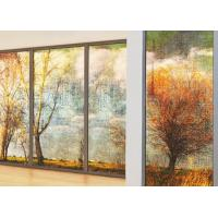 Wholesale 3~12mm Digital Image On Glass , Digital Photo Printing On Glass For Hall Decoration from china suppliers