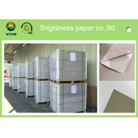 Wholesale Offset Printing 0.42mm Thick Paper Board Duplex Board Grey Back Single Side Coat from china suppliers