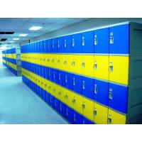 Buy cheap Red School Lockers With Keyless Lock , Factory price plastic employee ABS lockers from wholesalers
