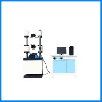 Wholesale Vertical Electronic Hydraulic Universal Tensile Compressive Strength Testing Machines from china suppliers