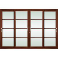Wholesale Various styles 2.0mm profile thickness aluminum sliding glass doors for living room from china suppliers