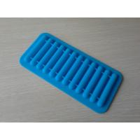 Wholesale Blue Stick Silicone Chocolate Mould / Silicone Ice Mould For Microwave Ovens from china suppliers