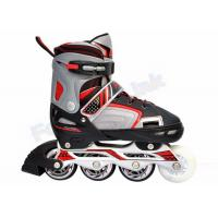 Wholesale Smooth Riding PU Wheels Kids Adjustable Roller Skates / LED Light Flashing Roller Skate from china suppliers
