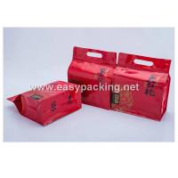 Wholesale Qual side sealed flat bottom pouches with zipper for tea packaging from china suppliers
