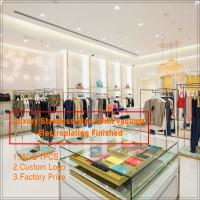 Buy cheap luxury fashion modern retail interior design for clothing store display from wholesalers