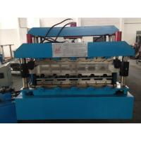 Wholesale 7.5KW Corrugated Sheet Making Machine , Metal Roll Forming Machines With Guide Pillar from china suppliers
