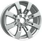 Wholesale Silver Cleaning 20 Inch Alloy Wheels / 6 Hole 5 Spoke Alloy Wheels Customization from china suppliers