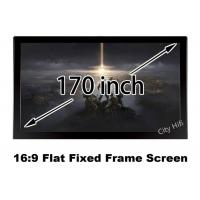 Wholesale Real 4K Front Projection Screen 170 Inch Clear Image For Cinema Theater Projector from china suppliers