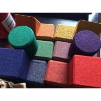 Wholesale Color cork brick block from china suppliers