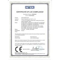 Hishine Group Limited Certifications