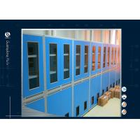 Buy cheap Lockable Glass Door Solvent Storage Cabinet Laboratory 900*450*1800mm from wholesalers