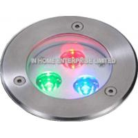Quality IP68  316 Stainless Steel Embedded LED Pool Light Underwater 3 Watt 50 - 60HZ for sale