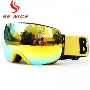 Mountain Snowmobile Ski Snowboard Goggles , Custom Ski Goggles For Men Women Youth