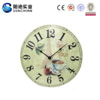 Buy cheap Muticolored Home Products Wooden Wall Clock /Wall Decor/ Wall Decoration For Living Room Supplies from wholesalers