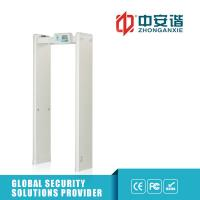 Wholesale Multi Zone Door Frame Metal Detector Walkthrough Led Screen 400 Sensitivity from china suppliers