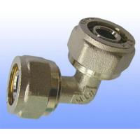 Wholesale compression brass fitting reduce elbow for PEX-AL-PEX from china suppliers