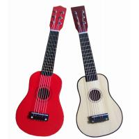 Wholesale White / Red Steel String Wooden Toy Guitar 21 Inch With Birch Neck AG21-404 from china suppliers