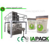 Wholesale Seeds Pouch Packing Machine With Multi-head Scale For Stand-up Bag, Doy Pack, Gusset Bag, from china suppliers