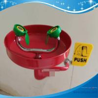 Buy cheap SH359DR-China best eye wash factory Wall mounted SUS304 safety eye wash ANSI CE sus304 material from wholesalers