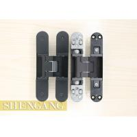 Wholesale Burglar Resistance Invisible Door Hinges Adjustable Black For Exterior Doors from china suppliers