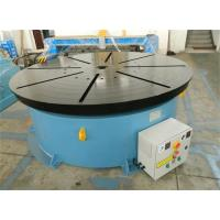 Wholesale Horizontal Welding Motorized Rotary Table Positioner 10 T for 1400 mm Table Diameter from china suppliers