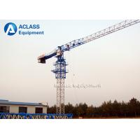 Wholesale Construction Machinery Equipment Flat Top Model Tower Cranes With 50m Jib 1.0ton Tip Load from china suppliers