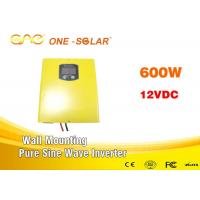 Wholesale Rrechargeable 600w Pure Sine Power Inverter With Ac Charger , Home Solar Inverter from china suppliers