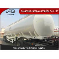 Wholesale 3 Axles 50CBM Fuel Tanker Semi Trailers Customized carbon steel tanker trailers from china suppliers