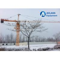 Wholesale QTZ63 5610 6 Ton Hammerhead Tower Crane 56m Jib Self - Climbing Building from china suppliers