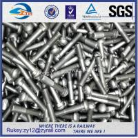Wholesale Railway high tensile oval neck black oxide fish bolts 8.8,10.9 with nut from china suppliers