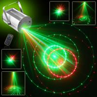 Wholesale 12 Gobos Red+green Mini dj Laser Lights Projector (single hole) from china suppliers