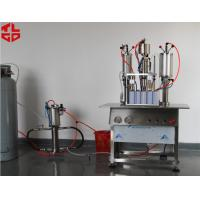 Wholesale Semi Automatic Hair Spray Mousse Styling Gel Aerosol Can Filling Machine from china suppliers