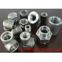 Wholesale ASME B16.11 SW 45 Degree Elbow Stainelss Steel Pipe Fittings DN6 - DN100 3000LB from china suppliers