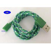 Wholesale Type C Smartphone USB Cable Nylon Weaving Desert / Ocean Camouflage Data Cable from china suppliers