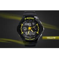 Wholesale 12 / 24 Hour Analog Sport Watch Mens Dual Time Digital Wrist Watches from china suppliers
