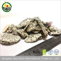 Freeze Dried Dragon Fruit White Lyophilized tropical fruit Sugar Free/ instant fruits