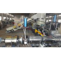 Quality mother and baby film granulaiton machine two stage film pelletizing machine for sale