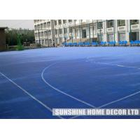 Wholesale Eco - Friendly Interlocking Sport Surface , Outdoor Basketball Court Flooring, Suspended Surface Tile from china suppliers