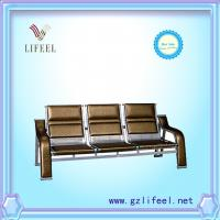 Wholesale fashional beauty salon furniture Three seats waiting chairs from china suppliers