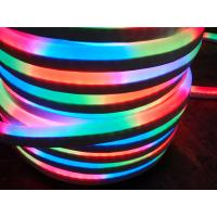 Wholesale High Efficiency IP65 Waterproof PVC 12V RGB Flexible Neon Rope Light 16X27mm from china suppliers
