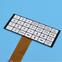 Buy cheap High-quality flexible embossed PCB Membrane Switch from wholesalers