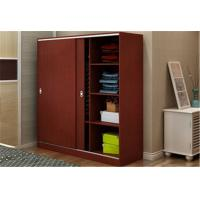 Quality Custom Tall Wood Storage Cabinets With Doors And Shelves , Horizontal File Storage Cupboards for sale