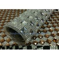 Wholesale hot fix rhinestone sheet crystal trimming from china suppliers