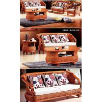 Wholesale classic sofa set, luxury indoor rattan sofa set 1+2+3,  #1002 from china suppliers