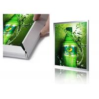 Wholesale 25mm Single Sided Aluminum LED Light Box Display , Backlit Poster Frames from china suppliers