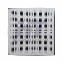 Wholesale Computer Room Perforated Raised Floor , Steel Air Flow Panel 600 x 600 from china suppliers